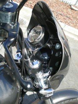 画像2: 2006年以降のダイナ 49mmフォーク用 クォーターフェアリングマウントブラケット