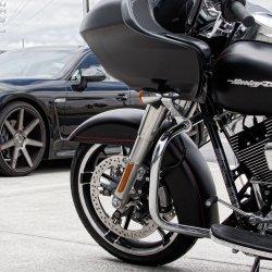 画像1:  Ness Bigブレーキ14インチフローティングディスクキット 2014年以降のツーリングモデル用