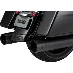 画像1: オーバーサイズ450スリップオン タイタン ブラック M8ツーリング用