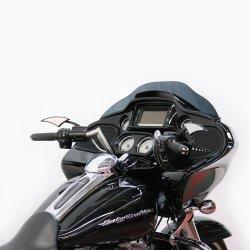 """画像1:  6""""モンキースポーツバー 2015年以降のTRシリーズ用 ブラック/クローム"""