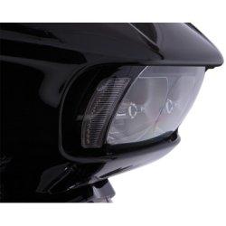 画像3: FANGヘッドライトベゼル 2015年以降のロードグライド用 クローム/ブラック