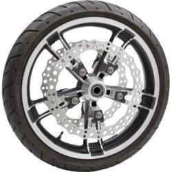 画像2: Ness 14インチ BIGブレーキ JAGGED フローティングローター 2014年以降のツーリングモデル
