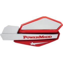 画像1: パワーマッド スターシリーズハンドガード レッド/ホワイト