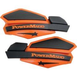 画像1: パワーマッド スターシリーズハンドガード オレンジ/ブラック