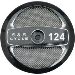 画像1:  S&S ステルスエアクリーナーカバー 124ciIロゴ
