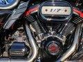 ダイヤモンドカット クラウンボルトキャップキット M8エンジン用 ブラック/クローム