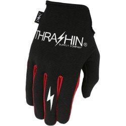画像2: Thrashin Supply ステルスグローブ  Black/Red