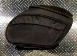 画像1: Leather Pros RetroV3 バリスティックナイロン デタッチャブルサドルバッグ M8ソフテイル用