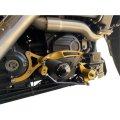 Performance Machine M8ツーリングモデル用 ミッドコントロールキット ブラック/ゴールド