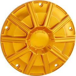 画像1: アーレンネス10ゲージ ダービーカバー ゴールド M8ツーリング用