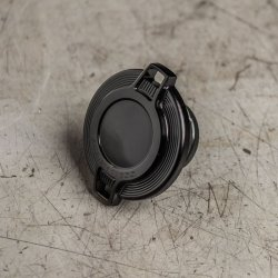 画像3: Ness Barデザイン ガスキャップ ブラック/クローム