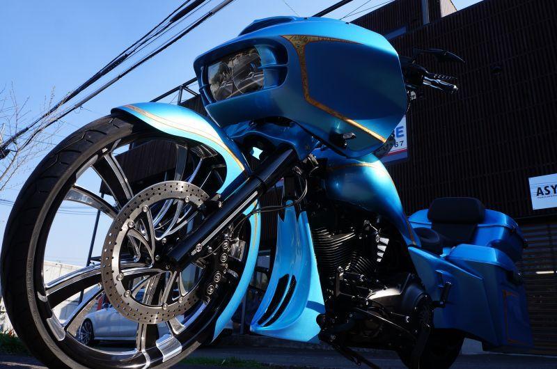 15 FLTRX 26inch custom KAPUTI PARTS